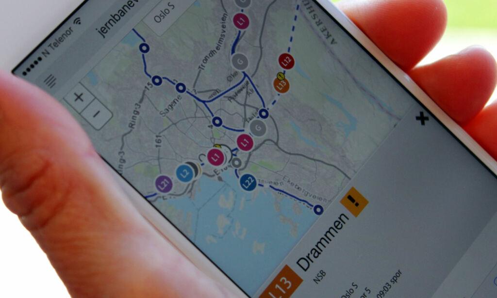 image: Toget i rute? Se dem på togkart!