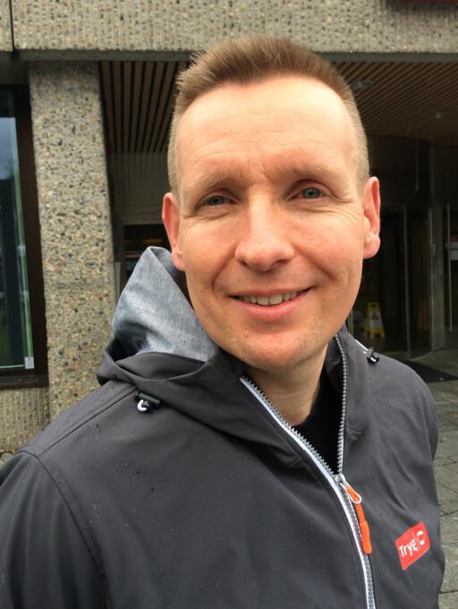 BEGRENSET BELØP: Roy Vetaas i Tryg understreker at reiseforsikringen kun dekker enkeltgjenstander inntil 20.000 kroner. Foto: TRYG