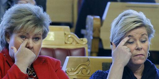 image: Opposisjonen anklager budsjett-kameratene for kreativ bokføring