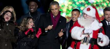 Her danser Nico & Vinz med Obama