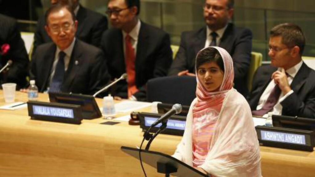 Da Taliban Kom Til Swat Dalen Gjorde Malala 17 Et Valg