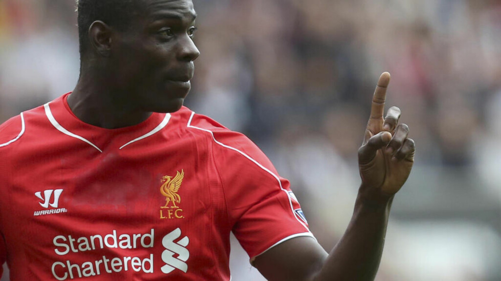 I TRØBBEL: Liverpool-spiss Mario Balotelli. Foto: AP Photo/Scott Heppell