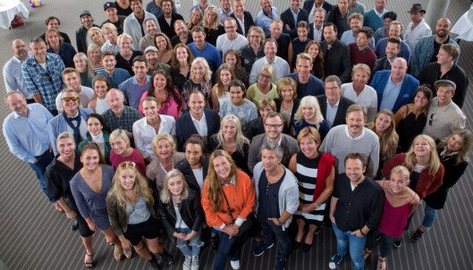 <strong>PROFILENE:</strong> Mange av de kjente ansiktene som dukker opp på TV 2 denne høsten var tilstede under årets høstlansering i Bergen. Foto: Eivind Senneset / Dagbladet