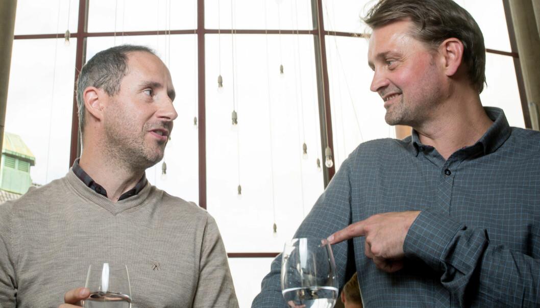 <strong>GLEDER SEG:</strong> Harald Rønneberg og Thomas Numme ser fram til sin 27. sesong med «Senkveld». Foto: Eivind Senneset / Dagbladet