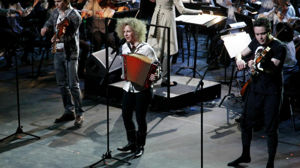 MISNØYE: En konsertgjenger fikk ikke et hyggelig svar tilbake da han lurte på hvorfor musikkgruppa Valkyrien Allstars ikke spilte «Å gjev du batt meg» under en konsert. Bildet er fra en tidligere anledning. Foto: NTB Scanpix