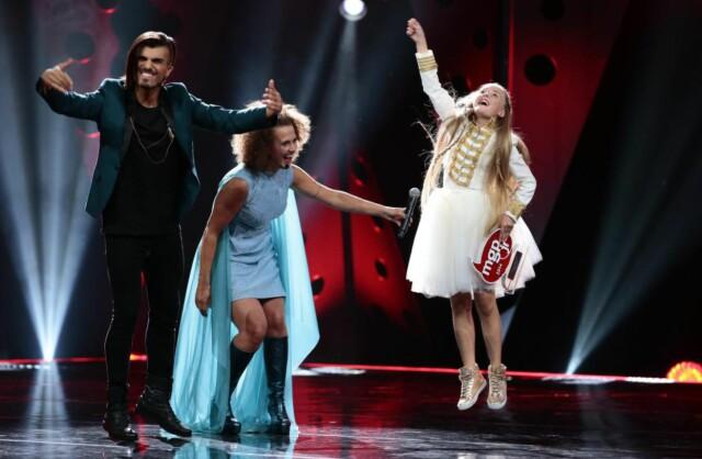 Her er vinneren av årets Melodi Grand Prix junior - Dagbladet