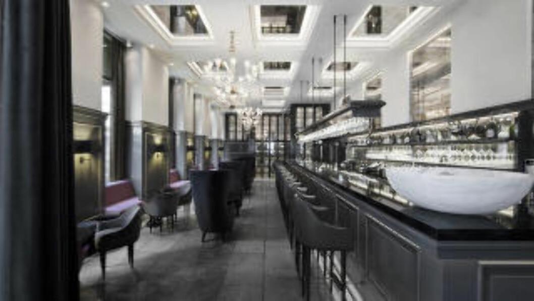 <strong>BOBLENDE AVSLUTNING:</strong> Har du først svidd av noen kroner på spa, kan du like godt prøve champagnebaren med 160 ulike typer bobler på Hotel d' Angleterre. Foto: HOTELLET