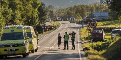 image: Politiet på Geilo varsler ny pressekonferanse etter sprengningsulykken som tok tre liv