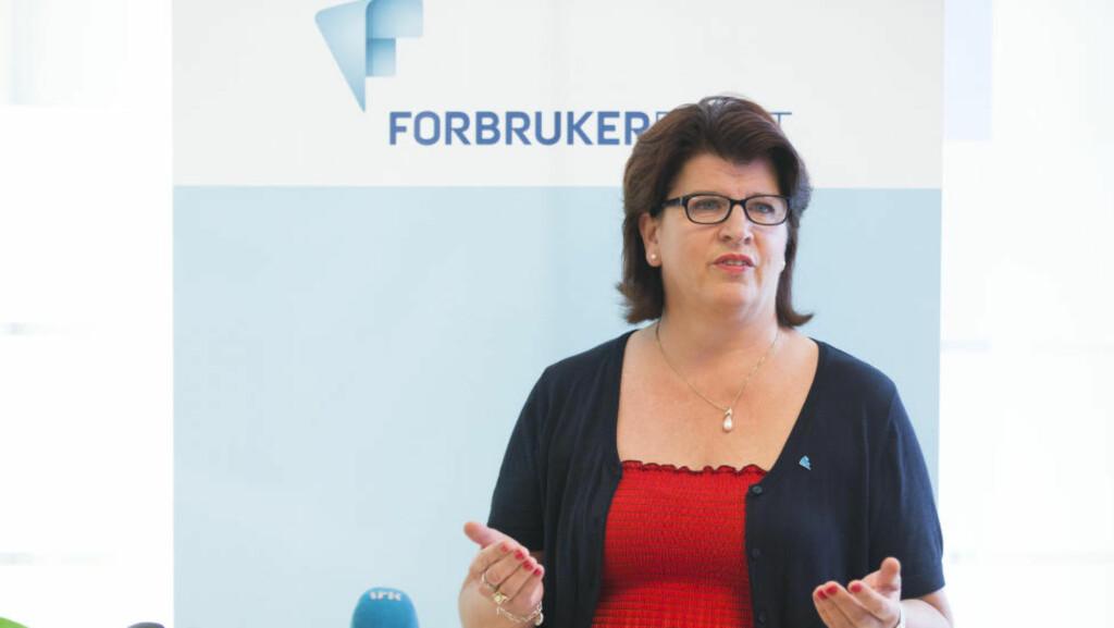 - BYTT BANK: Forbrukerdirektør Randi Flesland sier at det ikke er noen grunn til at de store bankene skal ha høyere renter enn de små. Foto: Berit Roald / NTB scanpix