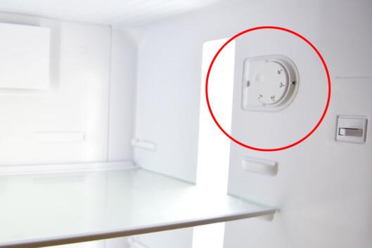 <b>HØYT TALL = LAV TEMPERATUR</b> Med et såkalt mekanisk termostat betyr høyeste tall laveste temperatur. Foto: SHUTTERSTOCK/NTB DINSIDE