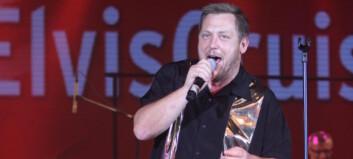 Her vinner Sivs infosjef Elvis-NM på Kiel-ferja