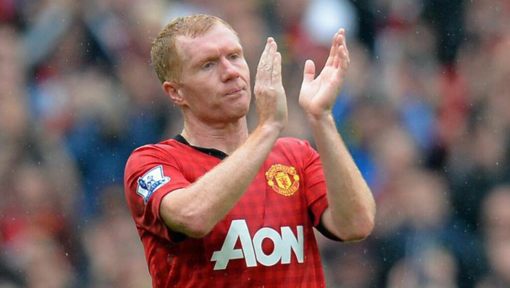 UNITED-LEGENDE:  Paul Scholes. FOTO: NTB SCANPIX