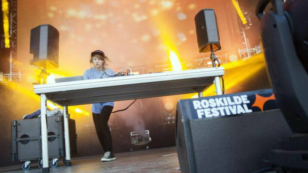 BLIR OPPVARMER: Magnus August Hoeiberg, beste kjent som Cashmere Cat. Foto: AFP PHOTO/ Scanpix 2014 / David Leth Williams / DENMARK OUT