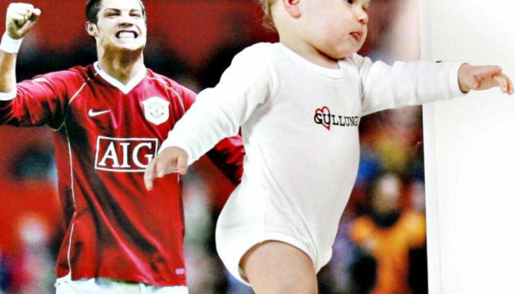 Nei, gutten din skal nok ikke bli en fotballstjerne