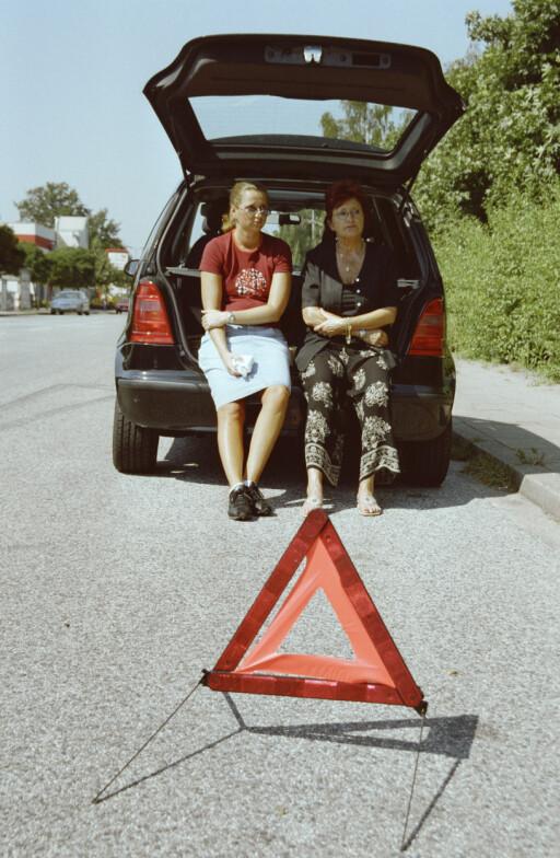 KJEDELIG STOPP: Bilferien kan bli et lite mareritt om det skulle smelle. KLP advarer spesielt mot Tyrkia og land i det tidligere Jugoslavia.  Foto: Plainpicture
