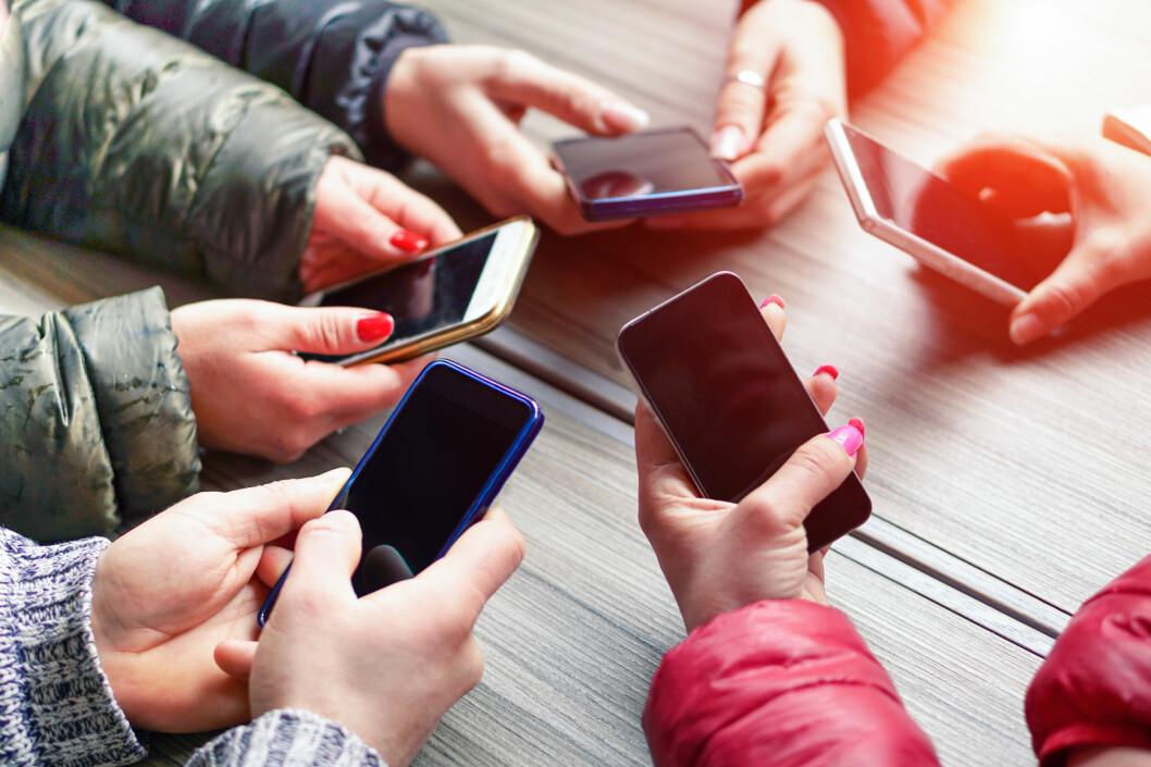 <strong><strong>EN JUNGEL:</strong></strong> Det finnes veldig mange telefoner på velge blant. I denne artikkelen har vi prøvd å skille klinten fra hveten. Foto: SHUTTERSTOCK/NTB SCANPIX