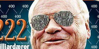 image: Norges rikeste: John Fredriksen passerer 100 mrd kroner i formue