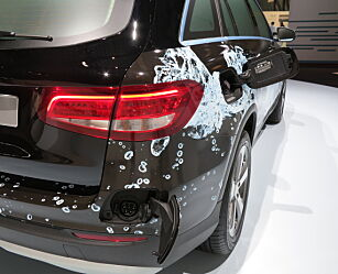 image: Mercedes-Benz GLC blir hydrogenbil