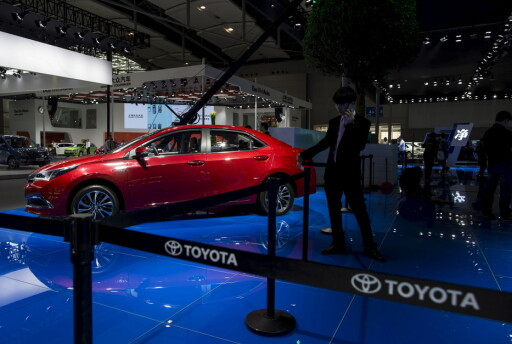 BESTSELGER: Hittil i år er Toyota Corolla verdens mest solgte bil, etterfulgt av VW Golf og Ford F-serie.  Foto: NTB SCANPIX/REUTERS