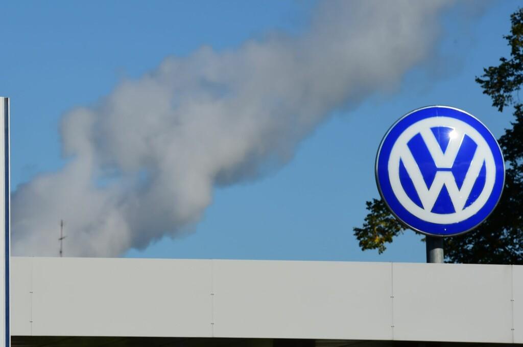 <b>TILBAKE:</b> Tross utslippskandalen er Volkswagen tilbake på topp når tallene for April telles opp.  Foto: Afp