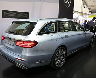 Mercedes-Benz lanserer E-klasse stasjonsvogn