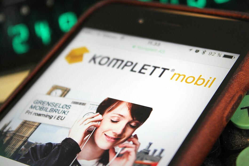 <strong><B>NYKOMMER:</strong> </b>Komplett Mobil er en helt fersk norsk mobiloperatør. Vi har sett på priser og tjenester.  Foto: OLE PETTER BAUGERØD STOKKE