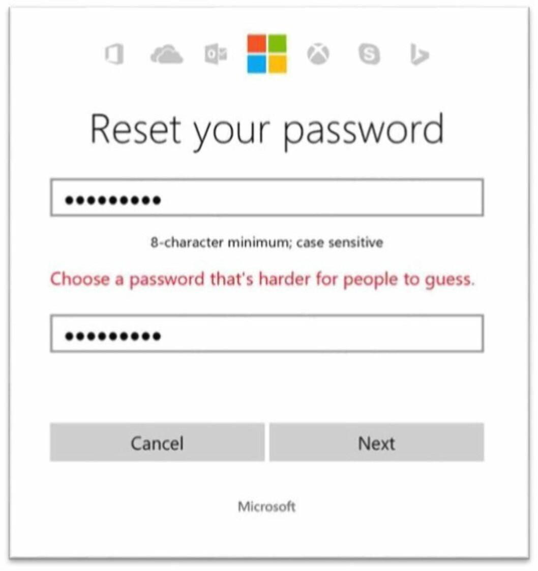 Vil ha slutt på at du bruker enkle passord