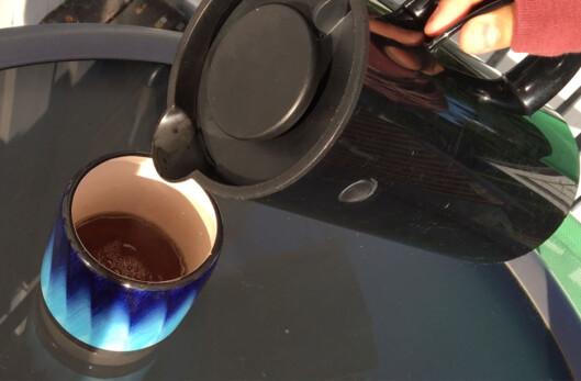 <strong><b>KAFFEERSTATNING:</strong></b> Denne kaffen er faktisk laget av løvetann. Foto: BERIT B. NJARGA