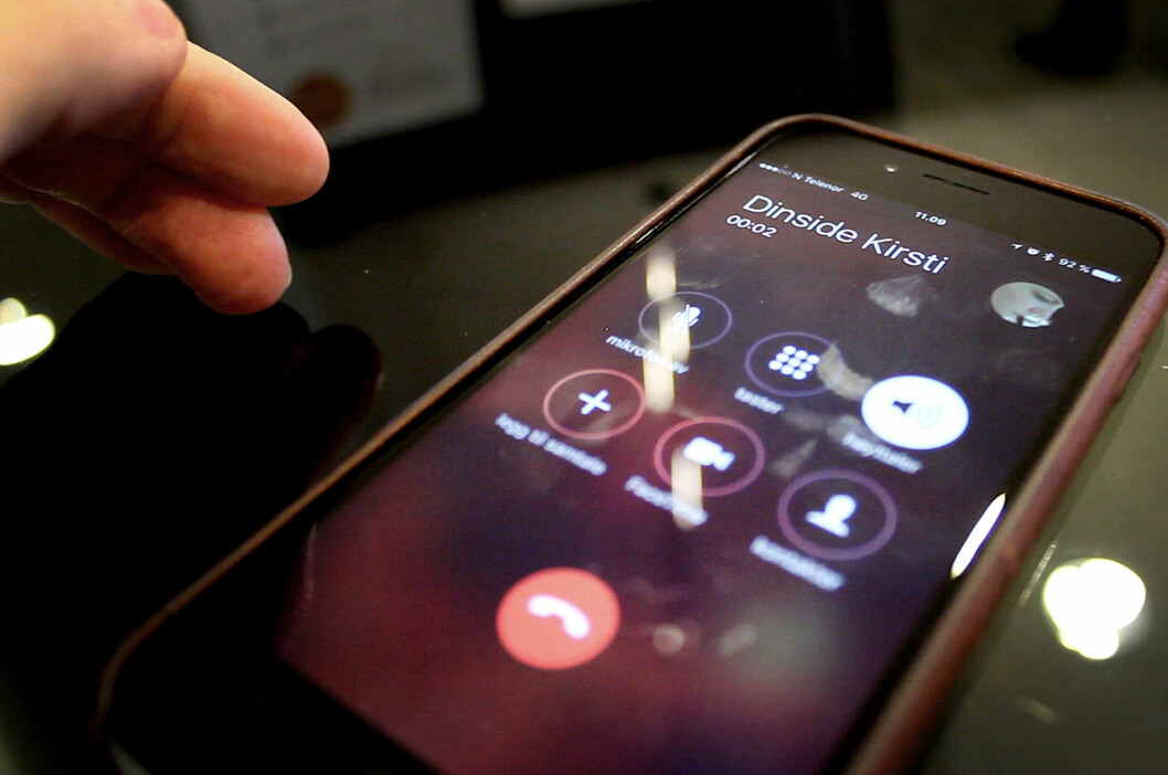 <strong><b>4G UNDER SAMTALER:</strong></b> Har du Telenor-abonnement, og en nyere iPhone, er det nå slutt på at du nedgraderes til 3G eller dårligere når du ringer.  Foto: OLE PETTER BAUGERØD STOKKE
