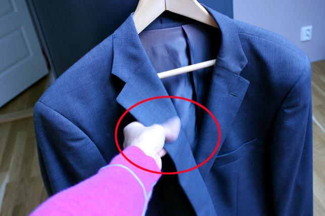 image: Slik fjerner du flekker på dressen - noen enkle tips