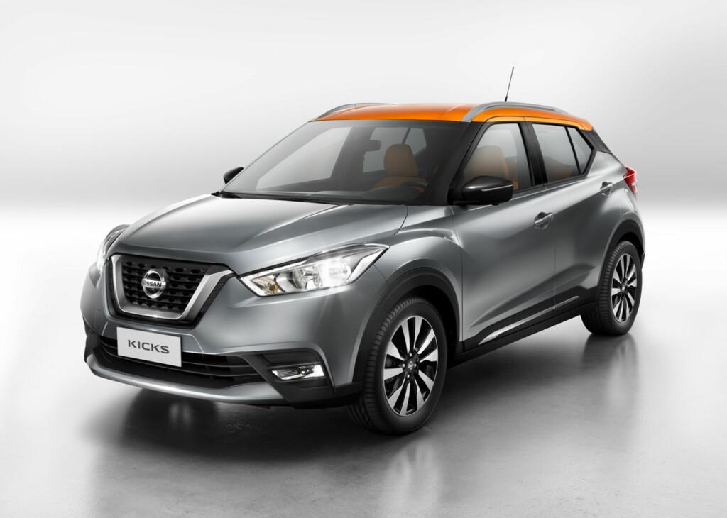 FAMILIEDESIGN: Nissan kaller stilelementene V-grill, bumerang-tema i lyktene og «flytende» tak. Foto: NISSAN
