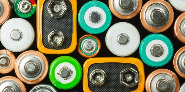 Hvilke batterier skal brukes til hva?