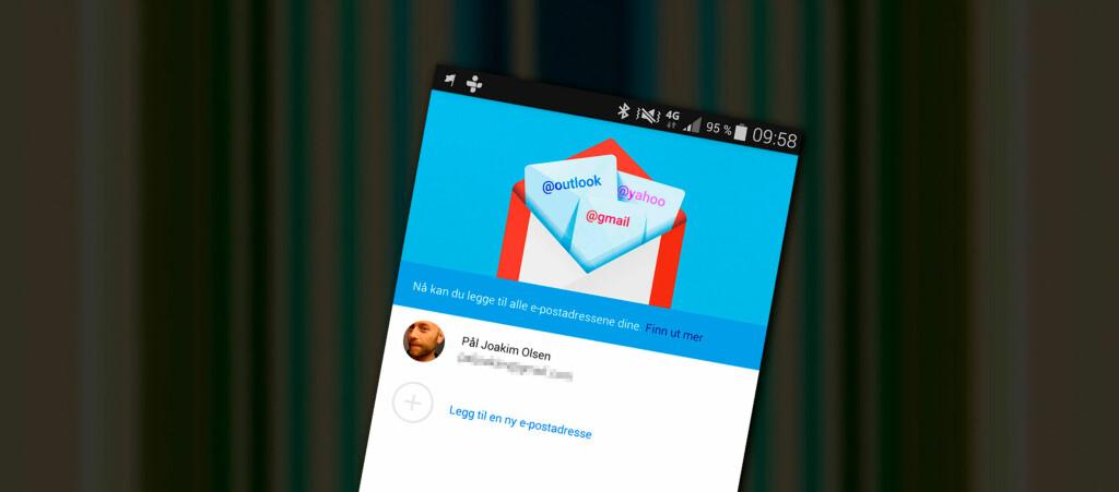 <strong>NÅ FOR ALLE:</strong> Mens man tidligere måtte trikse litt for å få Exchange-støtte i Gmail-appen, blir det nå mulig for alle. Foto: PÅL JOAKIM OLSEN