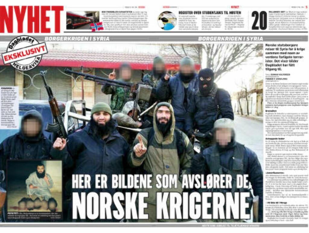 Faksimile Dagbladet 16. mai