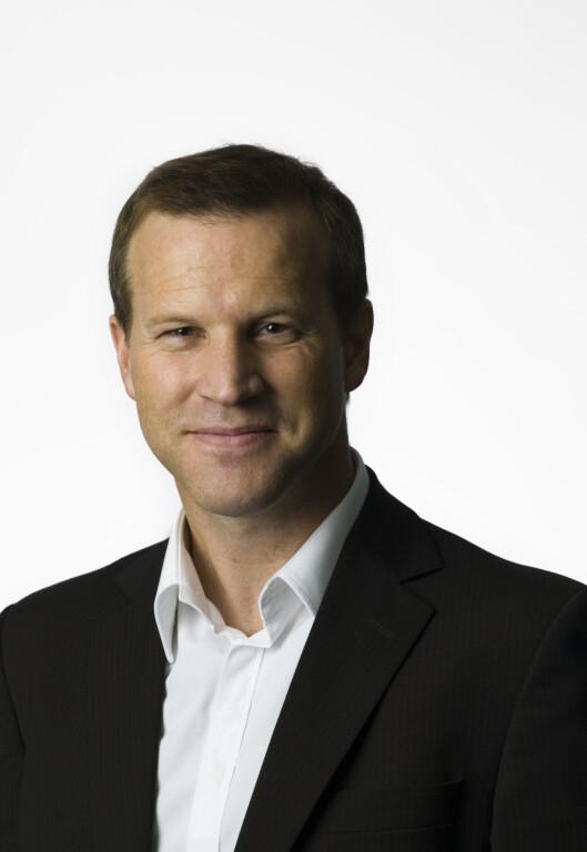 <strong><b>VIKTIG:</strong> </B>Informasjonssjef Anders Krokan i Telenor mener kunden forventer høy fart, og at kravene bare blir høyere og høyere. Foto: TELENOR