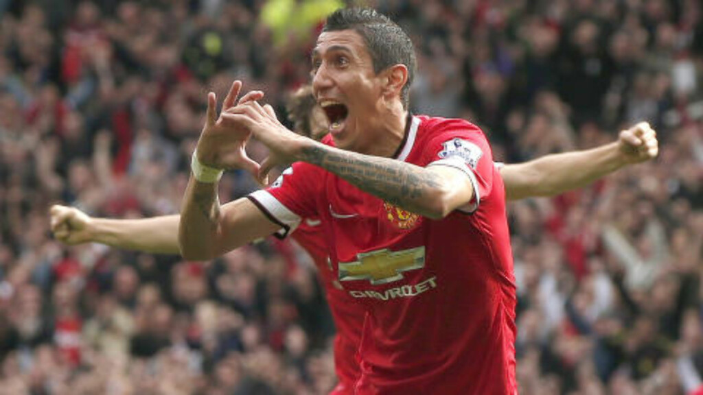 SCORET: Angel Di Maria. Foto: REUTERS/Phil Noble