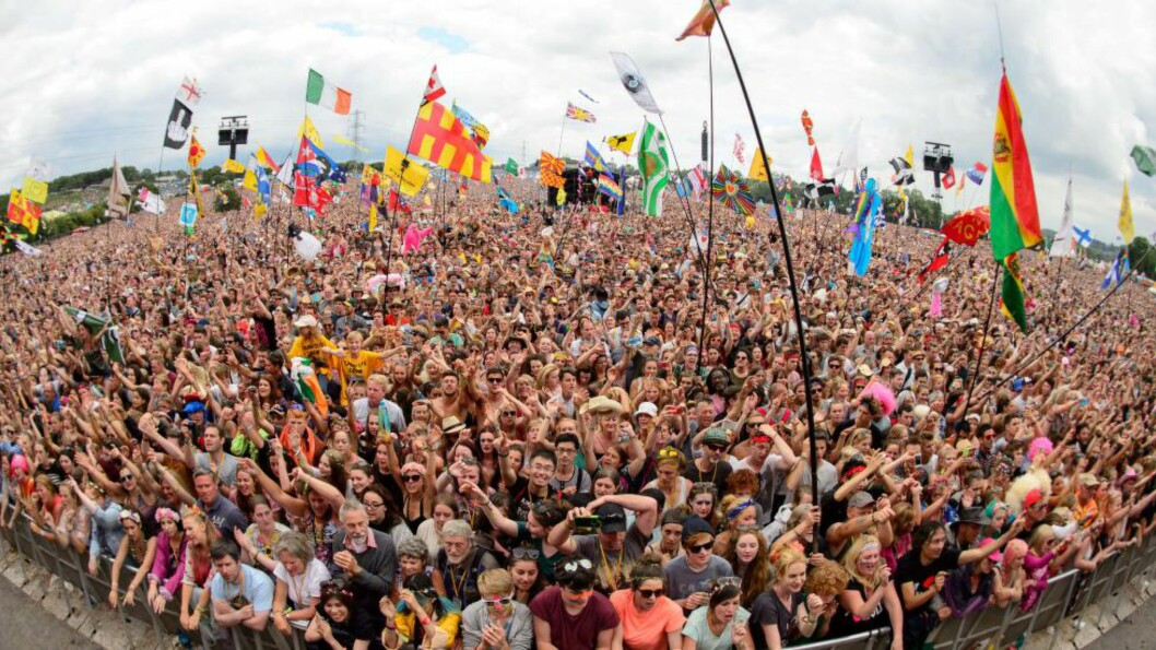 <strong>NY REKORD:</strong> Ifølge BBC skal Glastonbury hatt rekordsalg i 2013. Nå kan de juble over ny rekord for festivalen neste år. Foto: NTB Scanpix