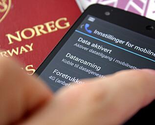 Slik skrur du på roaming når du er i utlandet