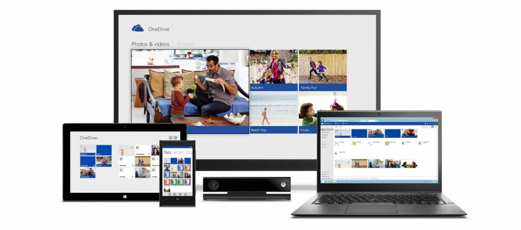 <strong>KUTTER:</strong> Mens du tidligere kunne få opptil 30 GB lagringsplass hos Microsoft uten å betale, har dette nå blitt kraftig redusert. Foto: MICROSOFT