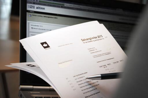 USIKKER PÅ TALLENE: Sjekk med Skatteetaten om du er i tvil. Foto: OLE PETTER BAUGERØD STOKKE