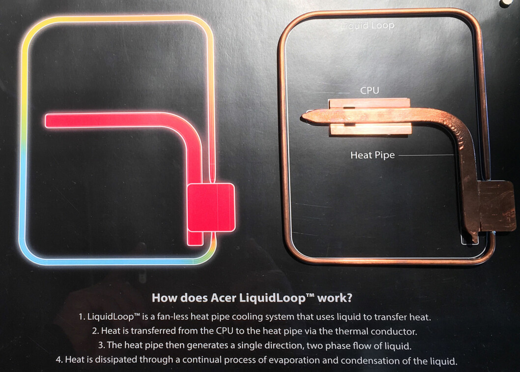 <strong><B>LUKKET VÆSKESYSTEM</B>:</strong> Her er forklaringen på hvordan systemet fungerer. Foto: BJØRN EIRIK LOFTÅS
