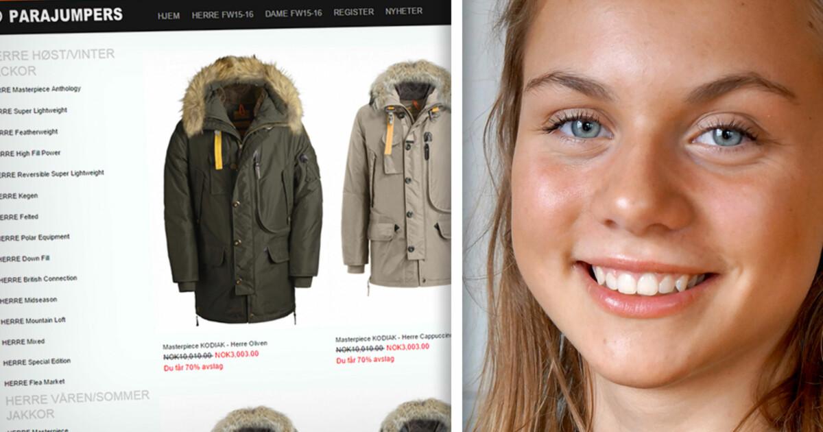 c1e4fa36 Kjøpte piratkopiert Parajumpers-jakke fra falsk nettbutikk - DinSide