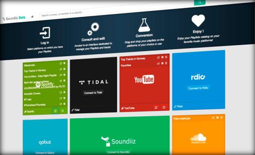FLYTT MUSIKK: Soundiiz lar deg flytte spillelister mellom ulike tjenester. Foto: PÅL JOAKIM OLSEN