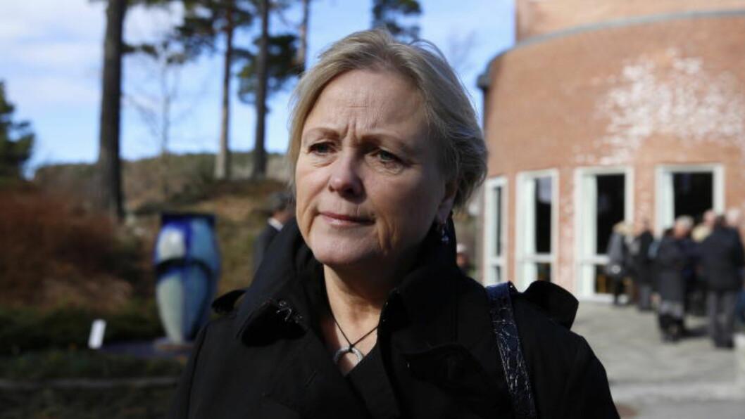 <strong>IKKE NOE HURRA:</strong> Kulturminister Thorhild Widvey får lite ros kultursatsingene i det nye statsbudsjettet. Foto: Lars Eivind Bones / Dagbladet