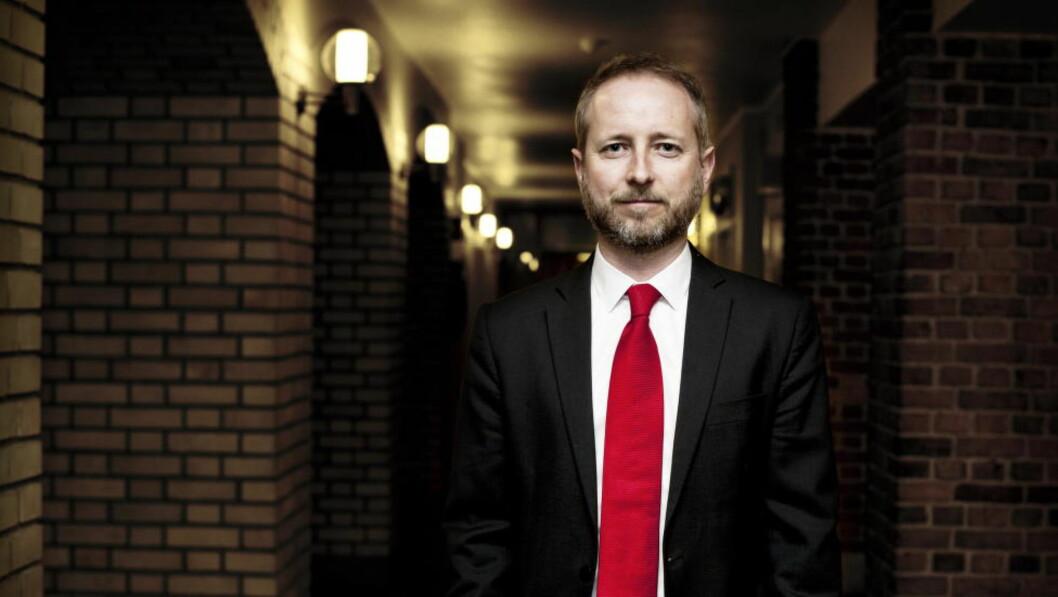 20120307, Oslo. Bård Vegar Solhjell i forbindelse med helgens landsmøte i SV og valg på ny leder. Foto: Melisa Fajkovic / Dagbladet