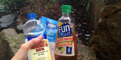 image: Saft og eddik tar knekken på maur og ugress