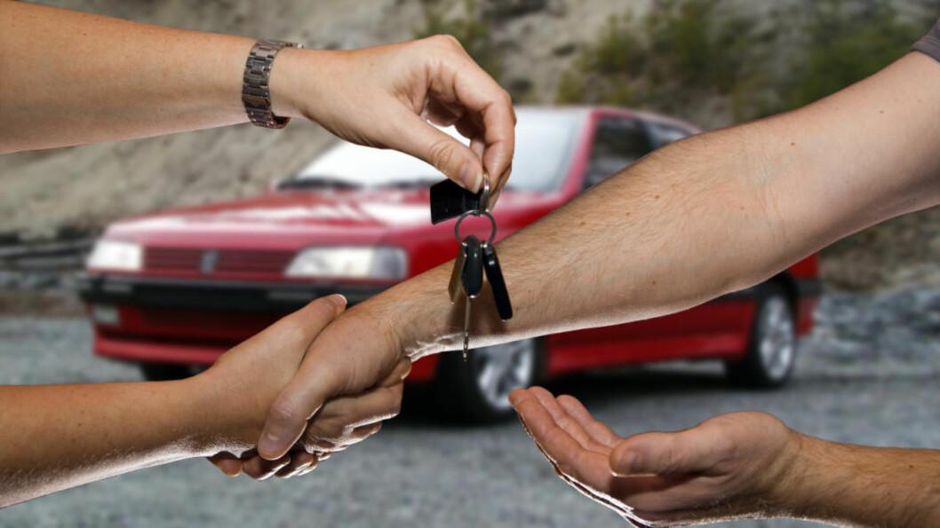 <strong>GRENSELØS:</strong> Nå kan også bilhandel bli grenseløs fra Norge mot utlandet. Foto: PER ERVLAND