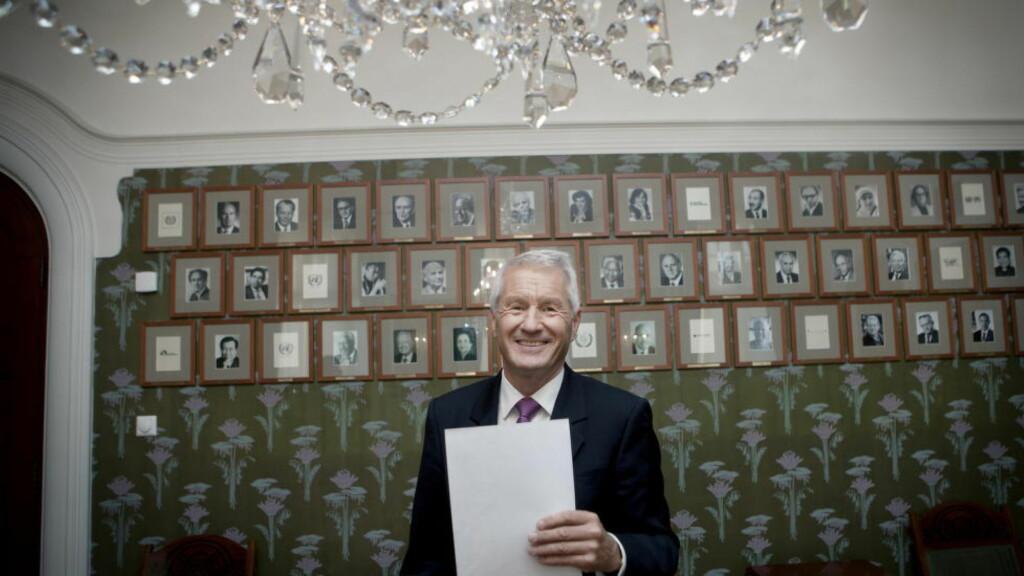 KONTROVERSIELL: Klokken 11.00 i dag kunngjør Thorbjørn Jagland Nobels Fredspris. Foto: Anita Arntzen/Dagbladet