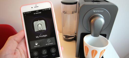 TEST: Nespresso Prodigio - kaffemaskinen du kan styre med en app