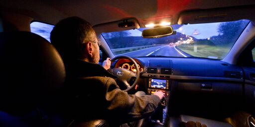 image: Tre av fem kvinner sier de aldri har stoppet for å sove langs veien